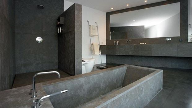 Gepolierde Betonvloer in Badkamer: Voorbeelden, Advies & Prijs