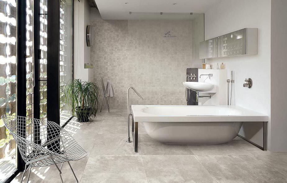 Beton In Badkamer : Gepolierde betonvloer in badkamer: voorbeelden advies & prijs
