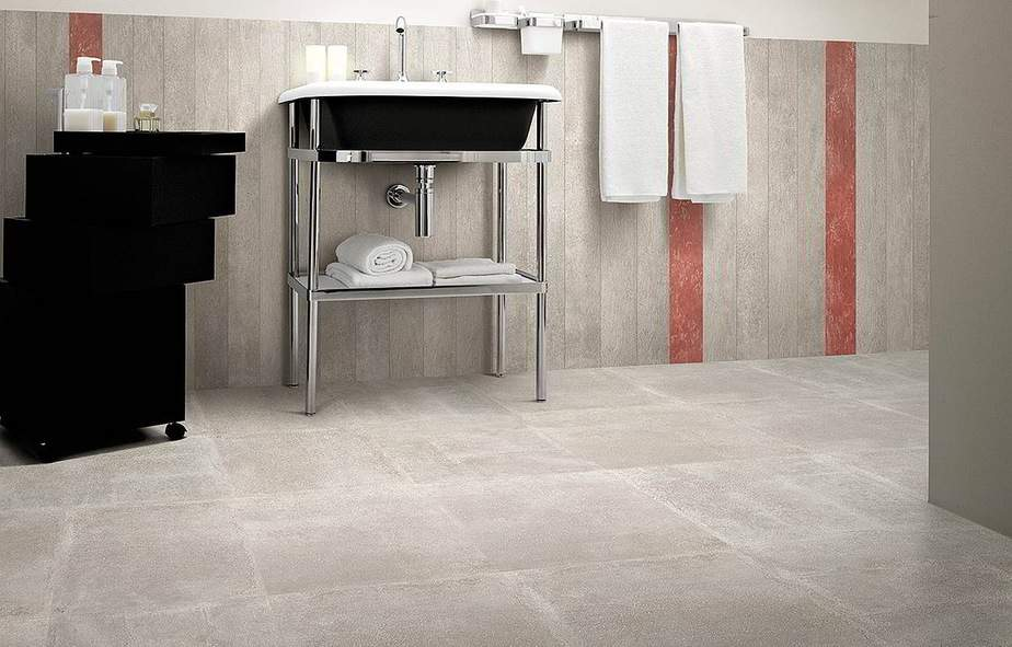 Gepolierde betonvloer in badkamer voorbeelden advies prijs - Badkamer keramische ...