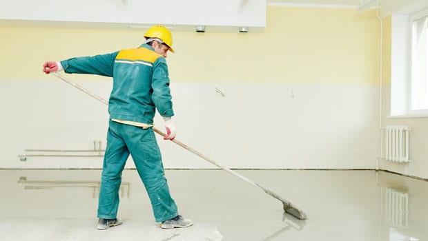 Betonnen vloeren schilderen