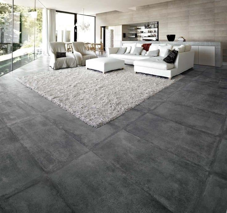gepolierde betonvloer in woonkamer inspiratie  realisaties, Meubels Ideeën