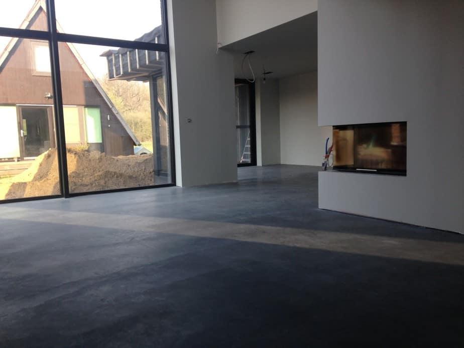 betonvloer isoleren polybeton bovenkant onderkant gepolierde betonvloer. Black Bedroom Furniture Sets. Home Design Ideas