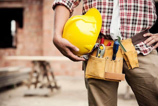 Uitgewassen beton voor oprit of terras